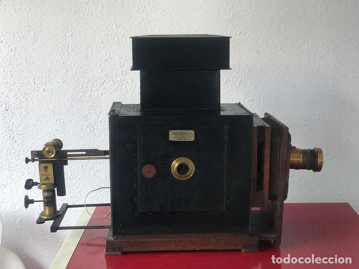 Antigüedades: LINTERNA MÁGICA JULES RICARD PARIS DE GRAN TAMAÑO FINALES DEL S.XIX. VER FOTOS ANEXAS. - Foto 31 - 193201010