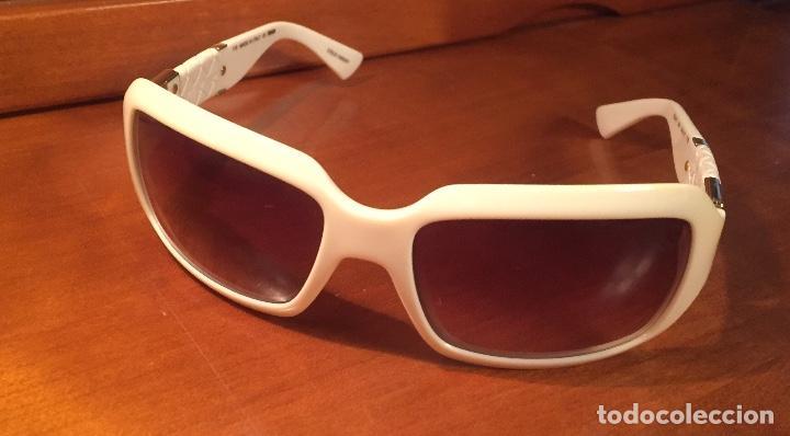 GAFAS SOL FENDI FS447 280 BLANCAS (Antigüedades - Técnicas - Instrumentos Ópticos - Gafas Antiguas)