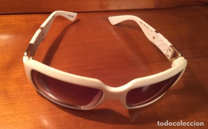 Antigüedades: Gafas sol Fendi FS447 280 blancas - Foto 2 - 193231025