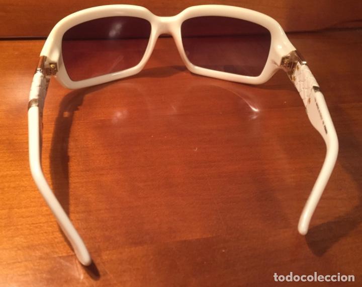 Antigüedades: Gafas sol Fendi FS447 280 blancas - Foto 6 - 193231025