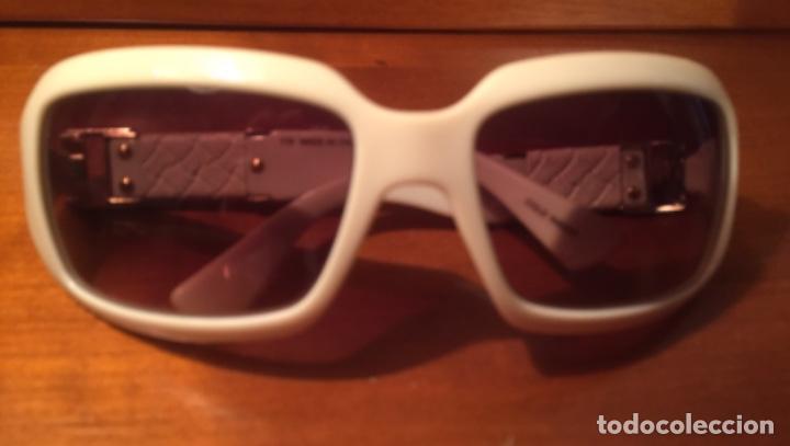 Antigüedades: Gafas sol Fendi FS447 280 blancas - Foto 7 - 193231025