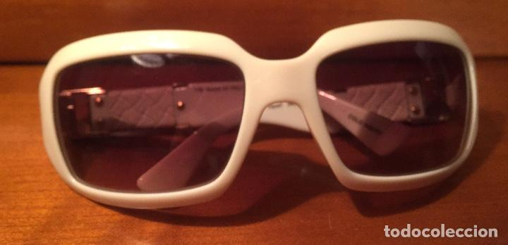Antigüedades: Gafas sol Fendi FS447 280 blancas - Foto 8 - 193231025