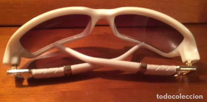 Antigüedades: Gafas sol Fendi FS447 280 blancas - Foto 9 - 193231025