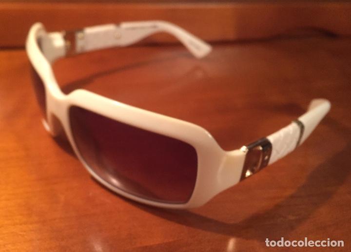 Antigüedades: Gafas sol Fendi FS447 280 blancas - Foto 10 - 193231025