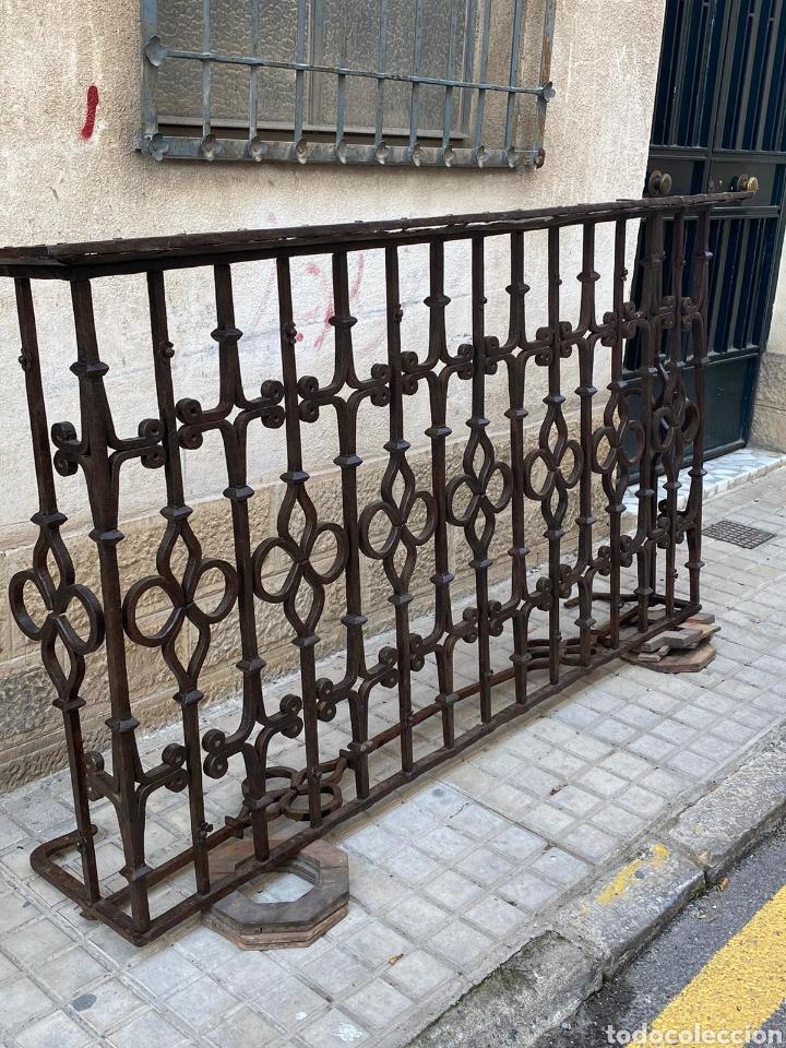 SENSACIONAL BALCÓN GÓTICO SIGLO XV (Antigüedades - Técnicas - Cerrajería y Forja - Forjas Antiguas)
