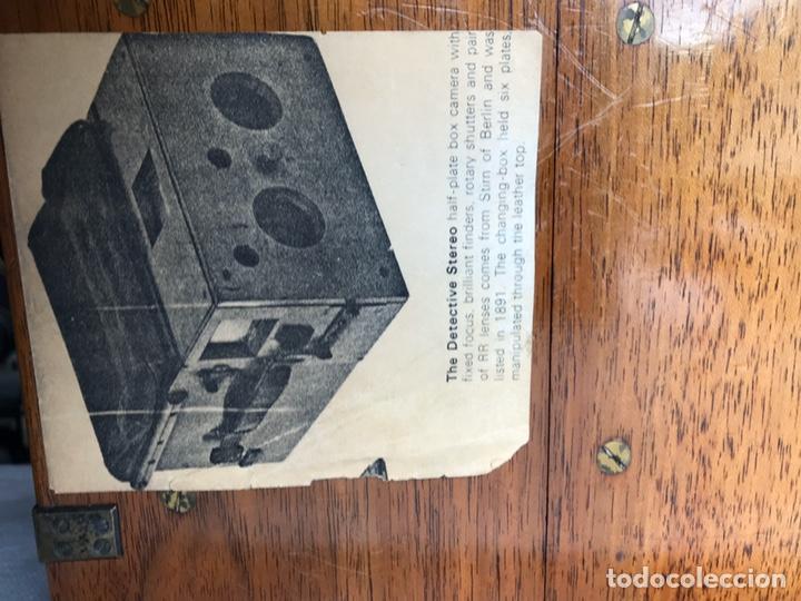 Antigüedades: Stirn detective stereo cámara camera - Foto 4 - 193259346