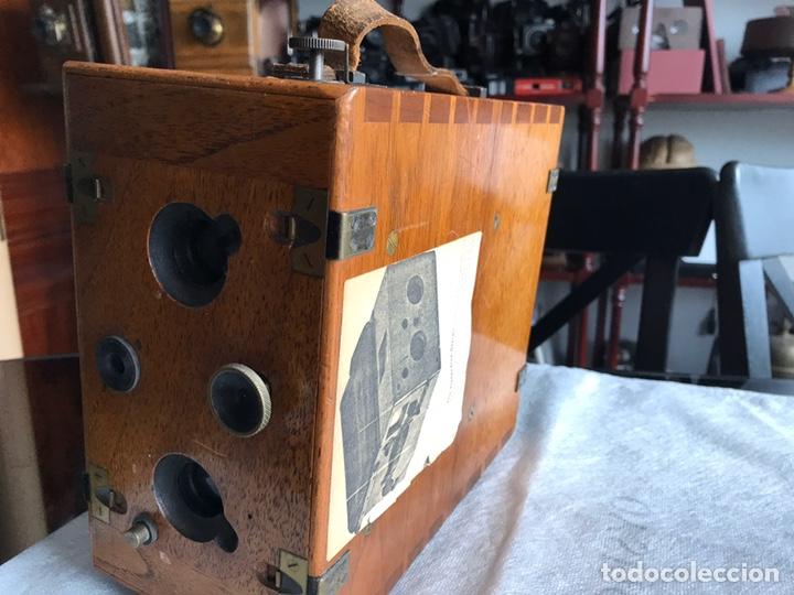 Antigüedades: Stirn detective stereo cámara camera - Foto 5 - 193259346