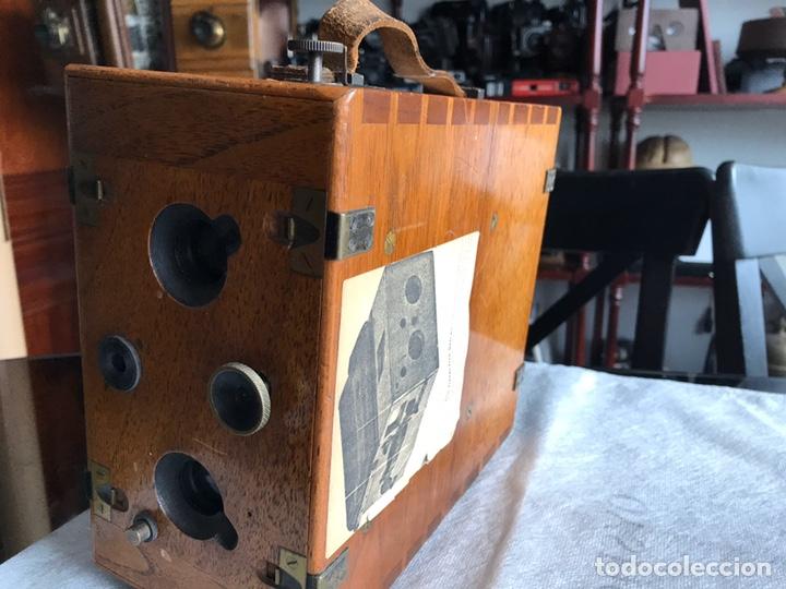 Antigüedades: Stirn detective stereo cámara camera - Foto 6 - 193259346