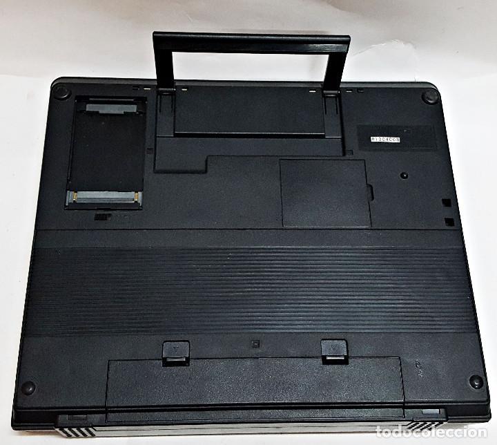Antigüedades: Maquina de escribir electronica SHARP PA-1050. - Foto 6 - 193267837