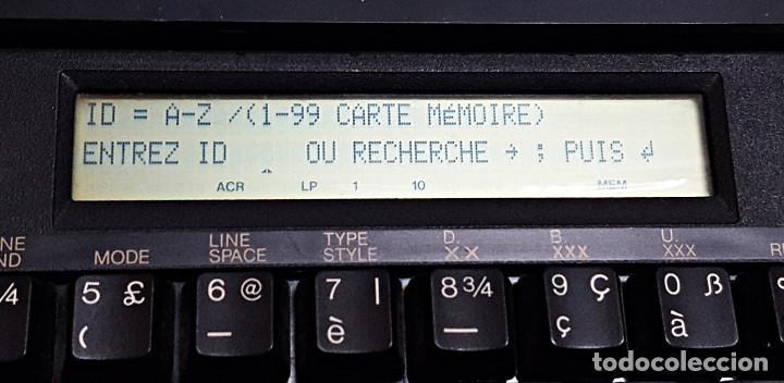Antigüedades: Maquina de escribir electronica SHARP PA-1050. - Foto 18 - 193267837