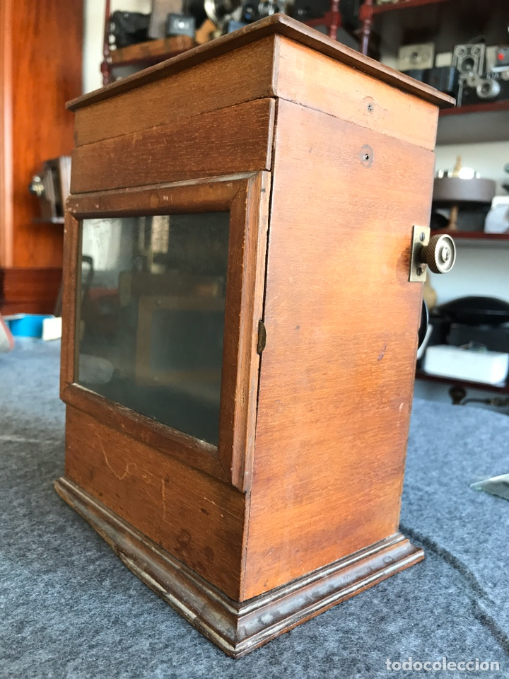 Antigüedades: Visor stereo. LE MINIMUS Stereo auto classeur Brevete S.G.P.G Lucien Bize 1907 - Foto 5 - 193268165