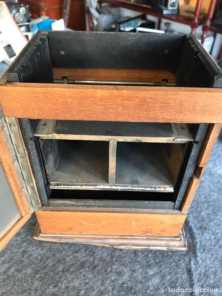 Antigüedades: Visor stereo. LE MINIMUS Stereo auto classeur Brevete S.G.P.G Lucien Bize 1907 - Foto 7 - 193268165