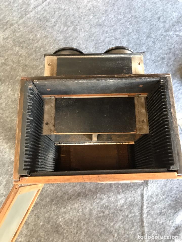 Antigüedades: Visor stereo. LE MINIMUS Stereo auto classeur Brevete S.G.P.G Lucien Bize 1907 - Foto 8 - 193268165