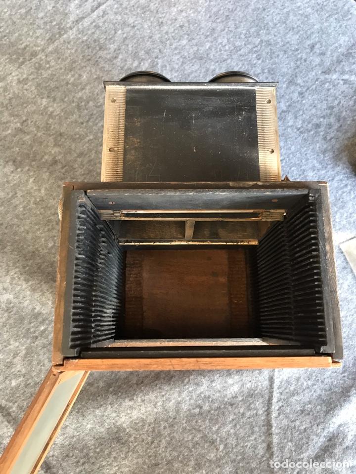 Antigüedades: Visor stereo. LE MINIMUS Stereo auto classeur Brevete S.G.P.G Lucien Bize 1907 - Foto 10 - 193268165
