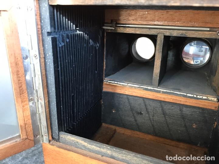 Antigüedades: Visor stereo. LE MINIMUS Stereo auto classeur Brevete S.G.P.G Lucien Bize 1907 - Foto 11 - 193268165
