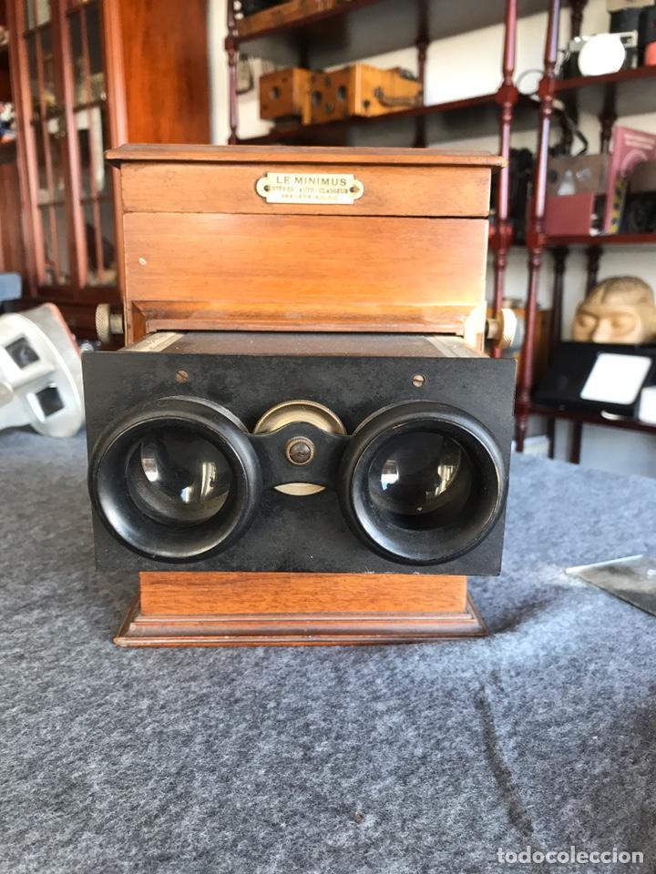 Antigüedades: Visor stereo. LE MINIMUS Stereo auto classeur Brevete S.G.P.G Lucien Bize 1907 - Foto 14 - 193268165