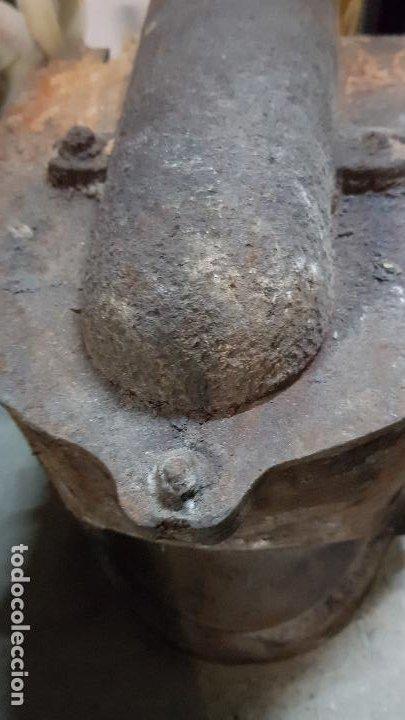 Antigüedades: PUERTA GUILLOTINA HORNO PANADERIA TARRASA-HIJO DE JUAN TURU - Foto 4 - 193271551