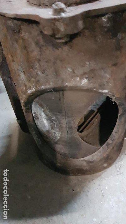 Antigüedades: PUERTA GUILLOTINA HORNO PANADERIA TARRASA-HIJO DE JUAN TURU - Foto 6 - 193271551