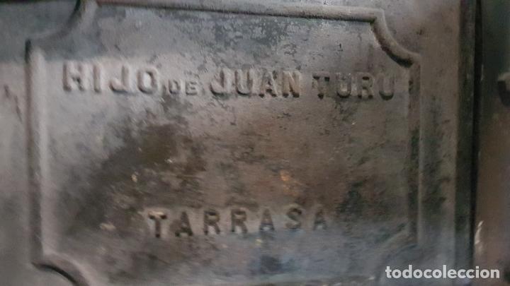 Antigüedades: PUERTA GUILLOTINA HORNO PANADERIA TARRASA-HIJO DE JUAN TURU - Foto 10 - 193271551