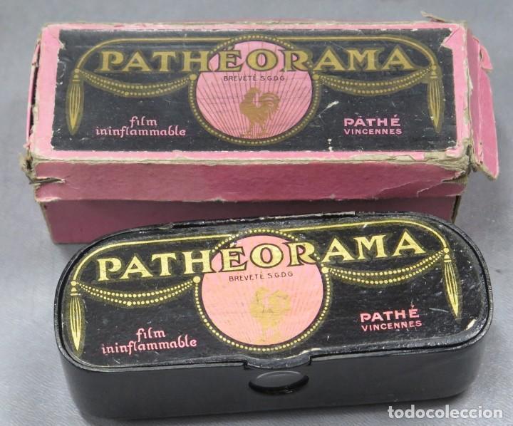 VISOR PATHEORAMA. PATHÉ. CON CAJA (Antigüedades - Técnicas - Aparatos de Cine Antiguo - Visores Estereoscópicos Antiguos)