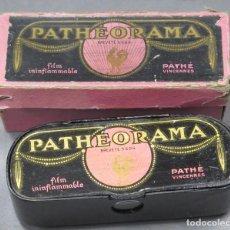 Antigüedades: VISOR PATHEORAMA. PATHÉ. CON CAJA. Lote 193278692