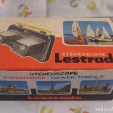 Antigüedades: ESTEREOSCOPE LESTRADE SOUVENIR LOURDES 1969. Lote 193280013