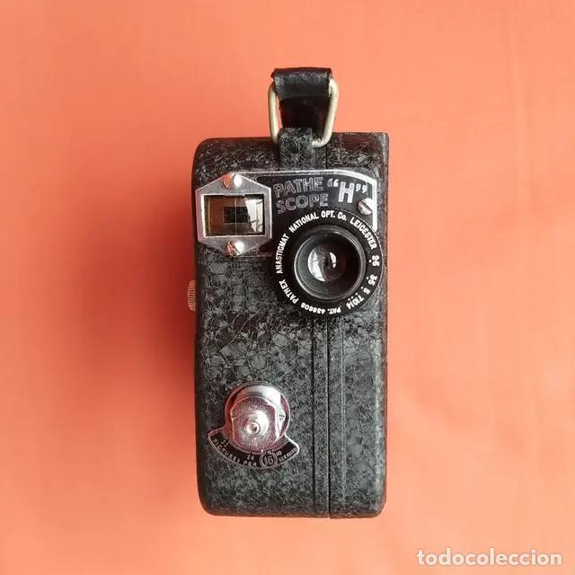 Antigüedades: Cámara de cine Pathe Pathescope H 9.5mm - Foto 2 - 193337515