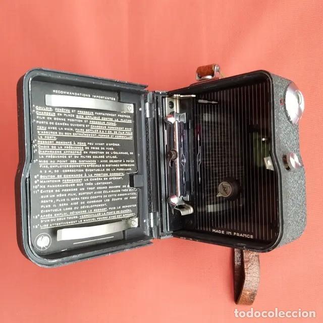 Antigüedades: Cámara de cine Pathescope Pathe National II 9.5mm - Foto 7 - 193341940