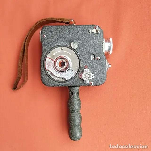 Antigüedades: Cámara de cine Pathescope Pathe National II 9.5mm - Foto 2 - 193341940