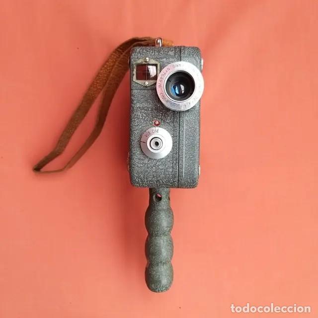 Antigüedades: Cámara de cine Pathescope Pathe National II 9.5mm - Foto 6 - 193341940