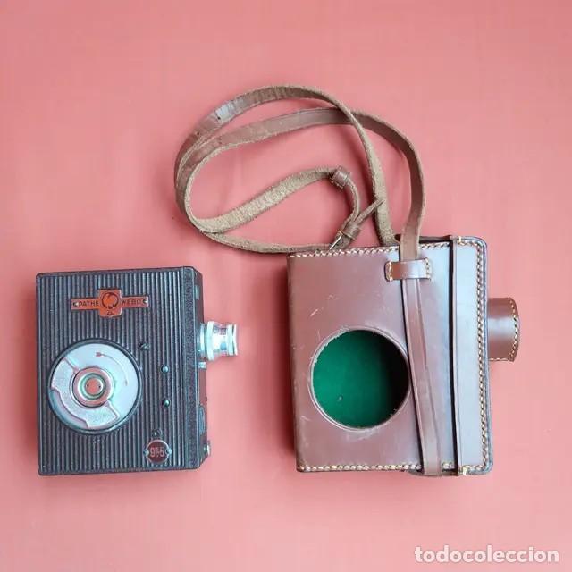 CÁMARA ANTIGUA CINE PATHESCOPE PATHE WEBO A 9,5MM (Antigüedades - Técnicas - Aparatos de Cine Antiguo - Cámaras de Super 8 mm Antiguas)