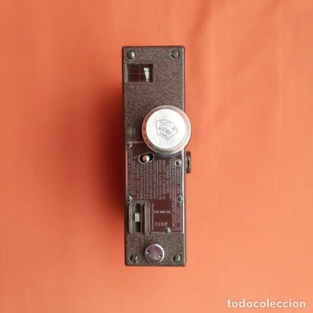 Antigüedades: Cámara antigua cine Pathescope Pathe Webo A 9,5mm - Foto 4 - 193342532