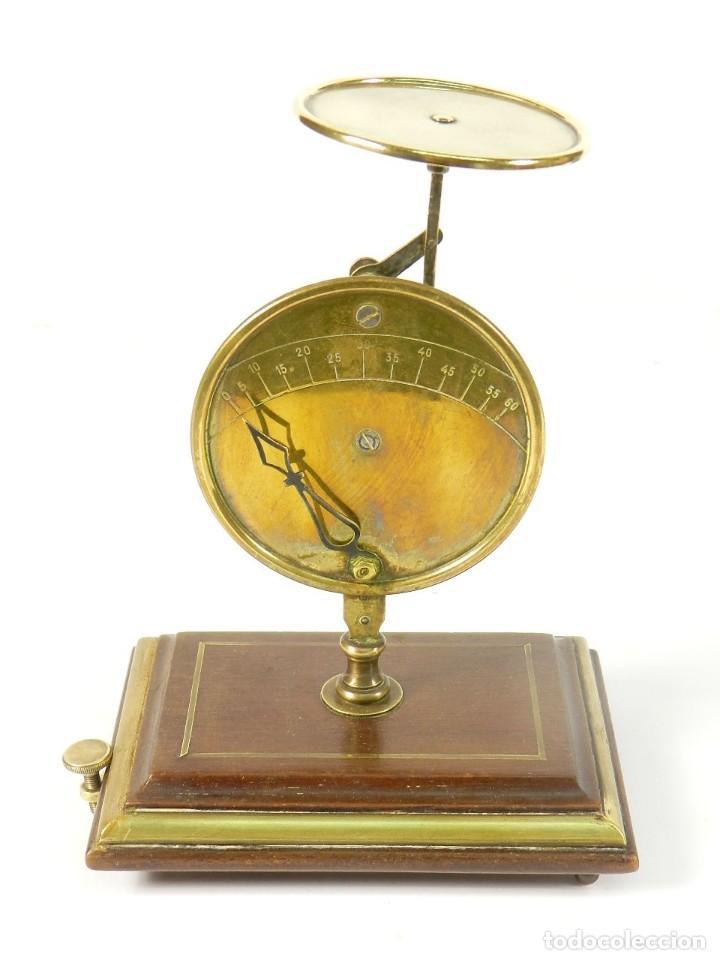 PESACARTAS SIGLO XIX (Antigüedades - Técnicas - Medidas de Peso Antiguas - Otras)