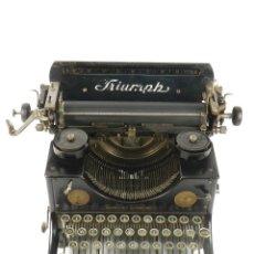 Antigüedades: MAQUINA DE ESCRIBIR TRIUMPH Nº2 AÑO 1923 TYPEWRITER SCHREIBMASCHINE. Lote 193370795