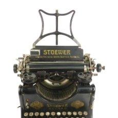 Antigüedades: MAQUINA DE ESCRIBIR STOEWER RECORD AÑO 1910 TYPEWRITER SCHREIBMASCHINE. Lote 193371682