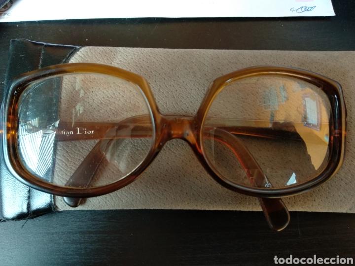 GAFAS DE PASTA CRISTIAN DIOR. AÑOS 60/70 (Antigüedades - Técnicas - Instrumentos Ópticos - Gafas Antiguas)