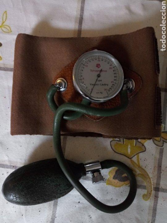 ESFINGOMANOMETRO VAZQUEZ LAUBRY (Antigüedades - Técnicas - Herramientas Profesionales - Medicina)