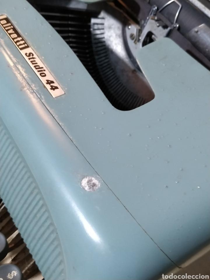 Antigüedades: Máquina de escribir Olivetti Studio 44 con maleta - años 50 - Foto 3 - 193568750