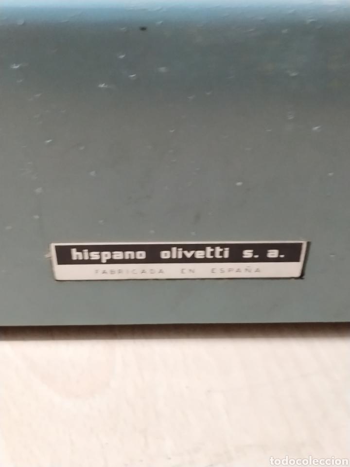 Antigüedades: Máquina de escribir Olivetti Studio 44 con maleta - años 50 - Foto 8 - 193568750