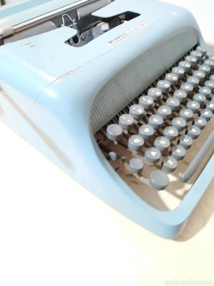 Antigüedades: Máquina de escribir Olivetti Studio 44 con maleta - años 50 - Foto 11 - 193568750