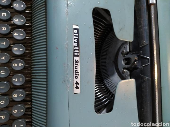 Antigüedades: Máquina de escribir Olivetti Studio 44 con maleta - años 50 - Foto 12 - 193568750