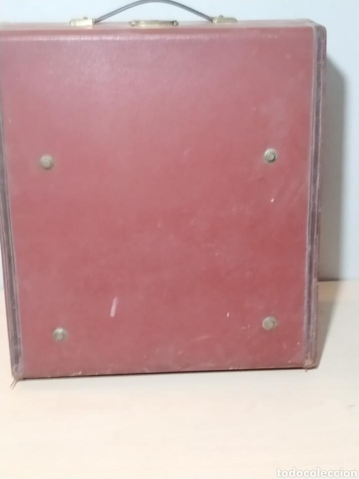 Antigüedades: Máquina de escribir Olivetti Studio 44 con maleta - años 50 - Foto 20 - 193568750
