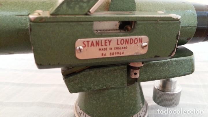 Antigüedades: Teodolito antiguo. Marca stanley. Años 60. Británico. - Foto 7 - 193569512