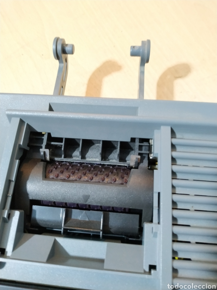 Antigüedades: Calculadora eléctrica Olivetti Logos 384 funcionando - años 80 - Foto 5 - 193571131