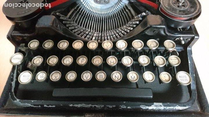 Antigüedades: Máquina escribir UNDERWOOD modelos 3B - Foto 6 - 193615723
