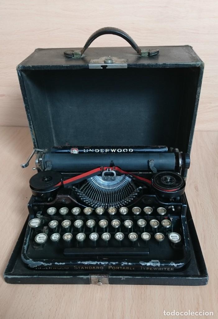 Antigüedades: Máquina escribir UNDERWOOD modelos 3B - Foto 11 - 193615723