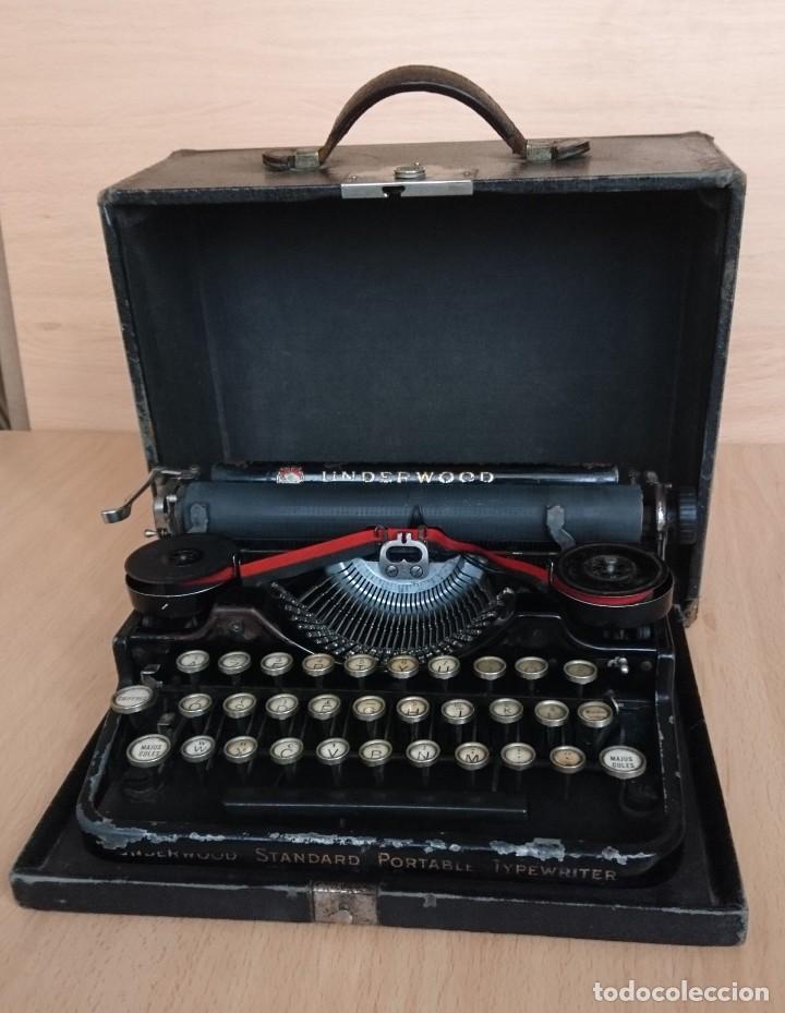 Antigüedades: Máquina escribir UNDERWOOD modelos 3B - Foto 14 - 193615723
