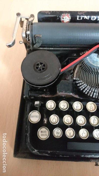 Antigüedades: Máquina escribir UNDERWOOD modelos 3B - Foto 18 - 193615723