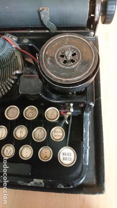 Antigüedades: Máquina escribir UNDERWOOD modelos 3B - Foto 20 - 193615723