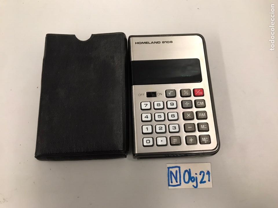 ANTIGUA CALCULADORA HOMELAND 8108 (Antigüedades - Técnicas - Aparatos de Cálculo - Calculadoras Antiguas)
